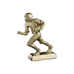 10 1/2 Inch Gold Football Resin Trophy 50600-g