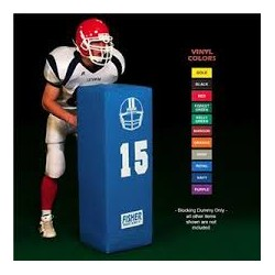 "Fisher Football Blocking Dummy 46"" tall X 15"" square SD15"