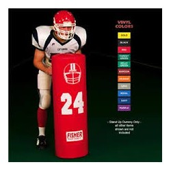 "Fisher Football Blocking Dummy 42"" tall X 14"" diameter SUD4214"
