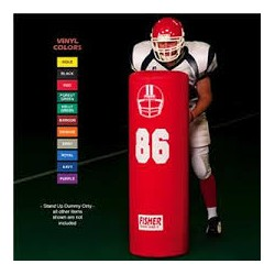 "Fisher Football Blocking Dummy 48"" tall X 16"" diameter SUD4816"