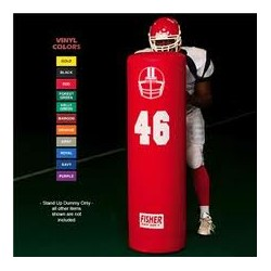 "Fisher Football Blocking Dummy 54"" tall X 16"" diameter SUD5416"
