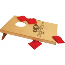 Laserable Mini Bag Toss/Cornhole Game