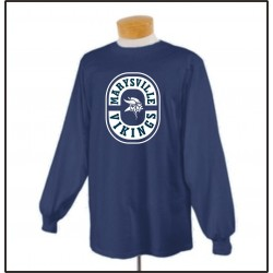 Marysville Vikings Long Sleeve T-Shirt w/Print