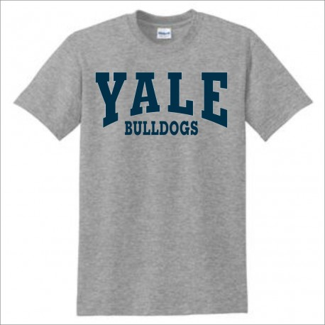 Yale Bulldogs Short Sleeve T-shirt w/ Print