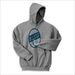 Yale Bulldogs Hooded Sweatshirt w/ Print