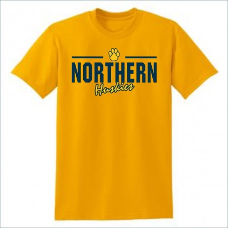 Port Huron Northern Huskies Short Sleeve T-shirt w/Print