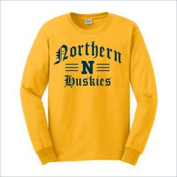 Port Huron Northern Huskies Long Sleeve T-shirt w/Print