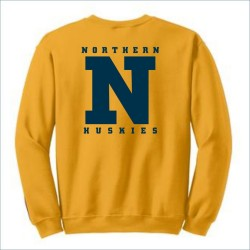 Port Huron Northern Huskies Crewneck Sweatshirt w/Print